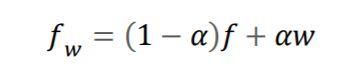 formula for visible image watermarking