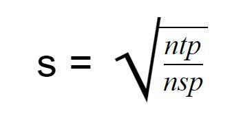 formula for sampling interval for SLIC superpixel segmentation